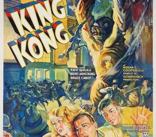 King Kong 1933 poster square