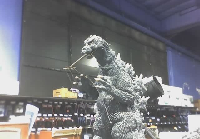 Fry's Godzilla