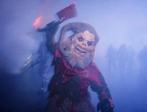 Dark Christmas Scare Zone. Photo by David Sprague