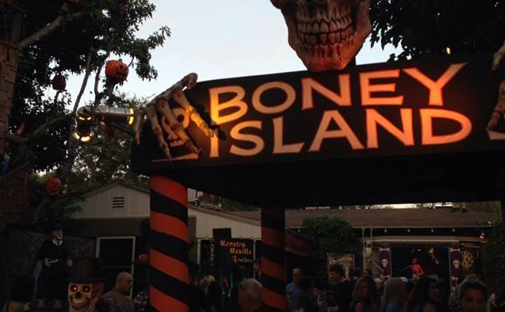 Boney Island 2015 entrance