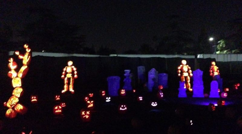 Rise of the Jack O'Lanterns 2015 cemetery 2