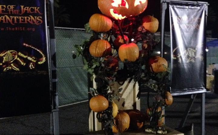 Rise of the Jack O'Lanterns 2015 photo op