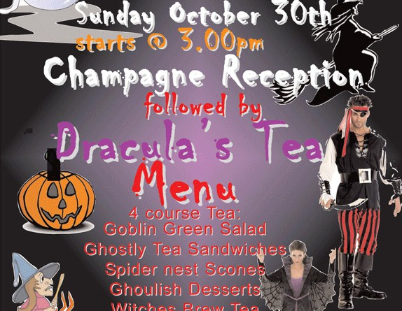 Halloween Witches Tea Party 2016