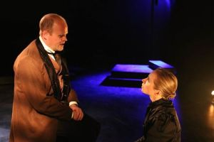 Isaac Wade and Natalie Hope Macmillan in Turn of the Screw