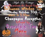 Halloween Witches Tea