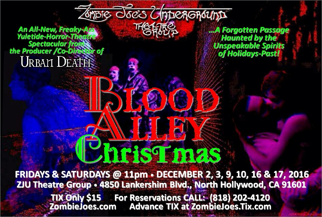 ZJU Theatre: Blood Alley Christmas opens