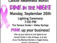 Mark Twain Medical Center is Once Again Promoting Pink in the Night in Honor of National Breast Cancer Awareness Month.