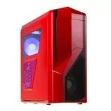 NZXT Phantom 410 Mid Tower USB 3.0 Gaming Case  RED