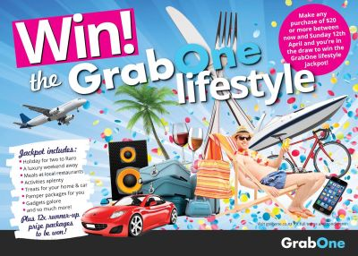 Win the GrabOne Lifestyle! Terms & Conditions