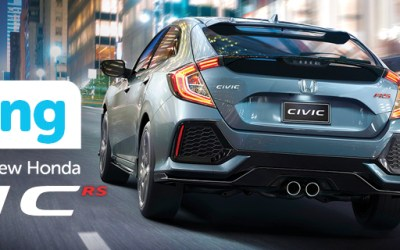 We're reversing the price of the NEW Honda Civic RS Sport Hatch