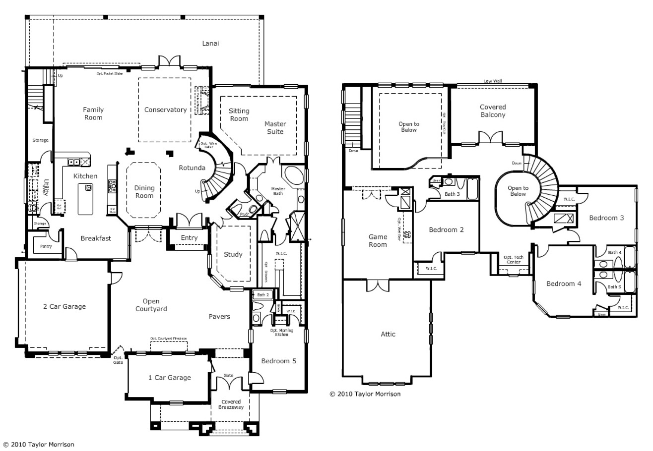 Marvelous View Plan Braemar New Luxury Homesnew Build Homes Taylor Morrison Orlando Division President Taylor Morrison Orlando Reviews houzz-03 Taylor Morrison Orlando