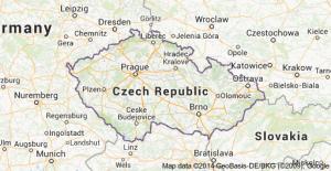 map czech