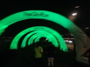 The Glo Run Course/Photo: Zach Freeman