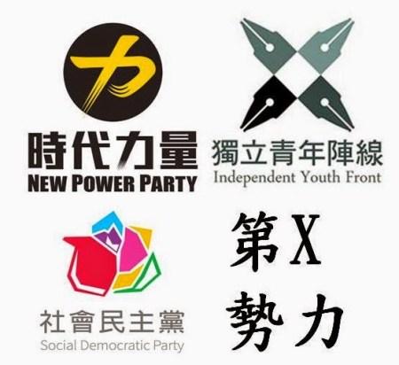 第三勢力目前已有許多派別。 圖片來源:劉國的政治奏鳴曲