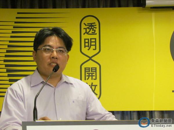 邱顯智在新竹選區強打柯建銘,可能影響時代力量選情。 東森新聞