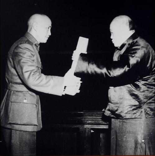 早在1946年寫的中華民國憲法,一路傳到現在。 圖片來源:中正紀念堂資訊網
