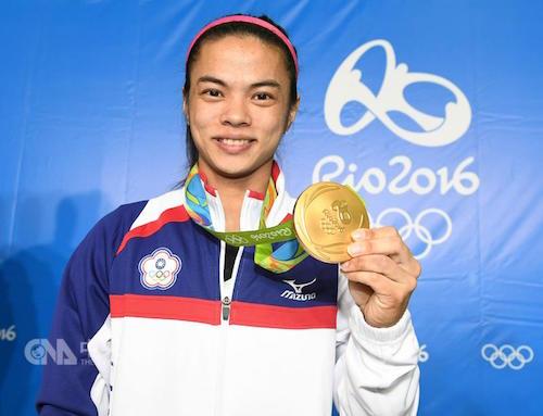 許淑淨奧運奪金,可獲高額獎金。 圖片來源:中央社