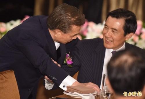 前國策顧問將為馬英九申請諾貝爾和平獎。 圖片來源:自由時報