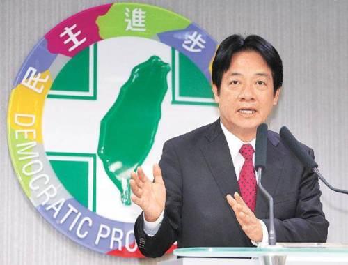 賴清德說目前沒有考慮選雙北市長。 圖片來源:中國時報