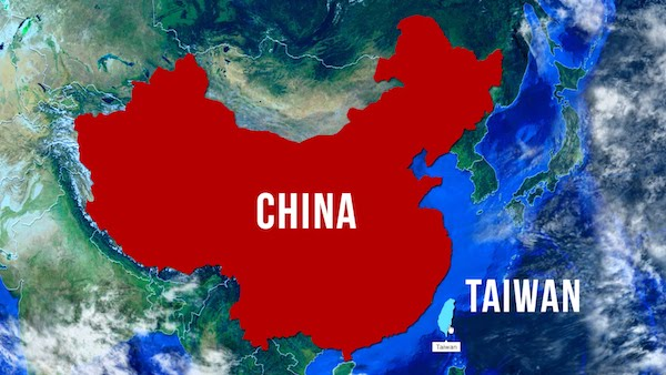 台灣與中國的關係複雜。 圖片來源:新唐人