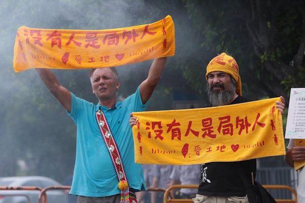 最近增設平埔原住民立委資格,引發爭議。 圖片來源:風傳媒/雅虎奇摩