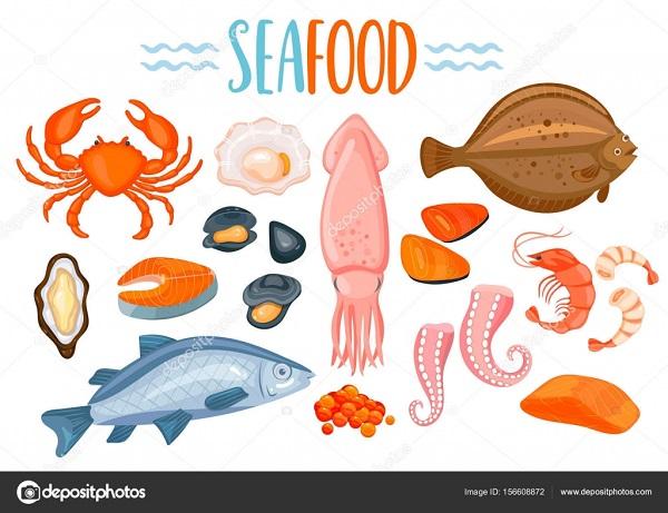 Seafood與師父諧音。 圖片來源:depositephotos