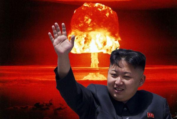 金正恩下令隨時發射核彈。 圖片來源:ZeroHedge