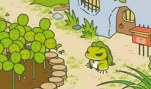 旅行青蛙是近來風靡的一個手遊。 圖片來源:聯合新聞網