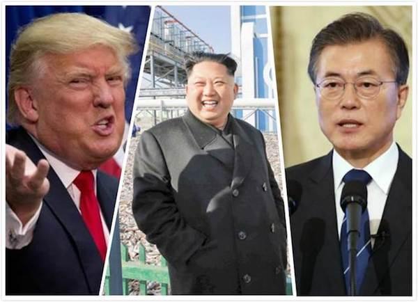 金正恩將與川普談「棄核」。 圖片來源:中時電子報