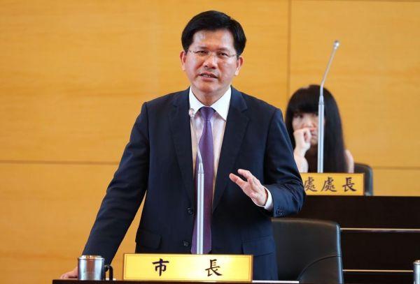 林佳龍能否順利連任台中市長? 圖片來源:聯合新聞網