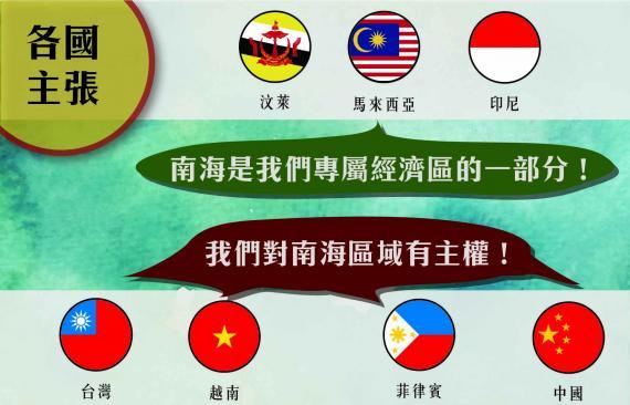南海主權爭議由來已久。 圖片來源:公民新聞