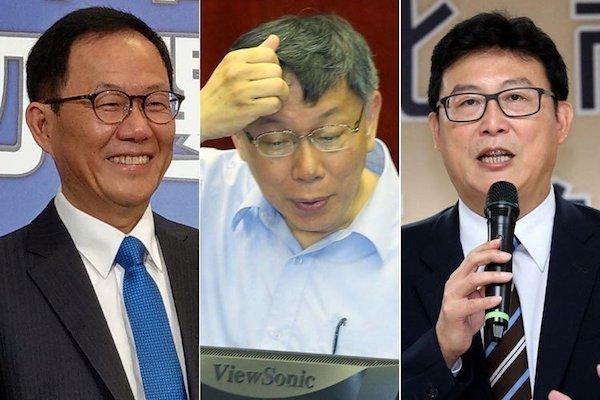 縣市長選戰,各候選人策略不同。 圖片來源:聯合報