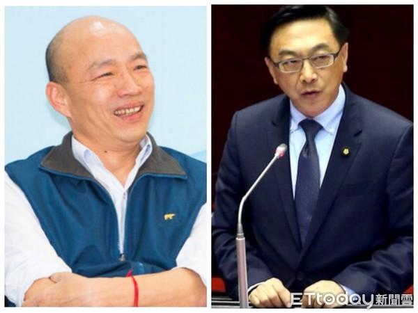韓國瑜的政見令人傻眼。 圖片來源:東森新聞