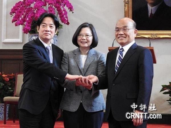 網友戲稱新內閣為落選者聯盟。 圖片來源:中評社