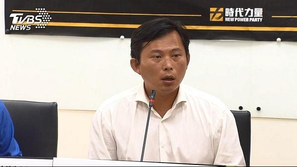 黃國昌不再選時代力量黨主席。 圖片來源:TVBS