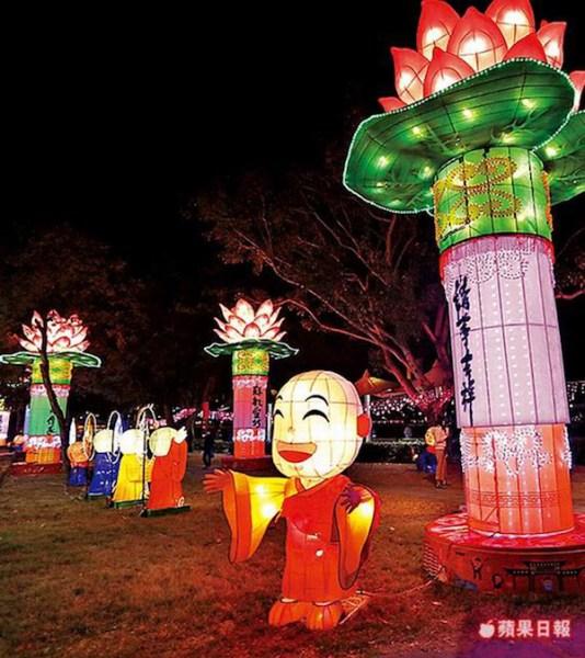 高雄燈會遭批嚇人。 圖片來源:蘋果日報