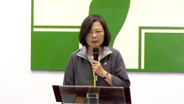 蔡英文面對的挑戰,不只賴清德。 圖片來源:Yahoo論壇