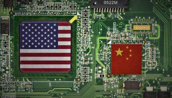 美中貿易戰已經是科技戰的對決。 圖片來源:科技新報