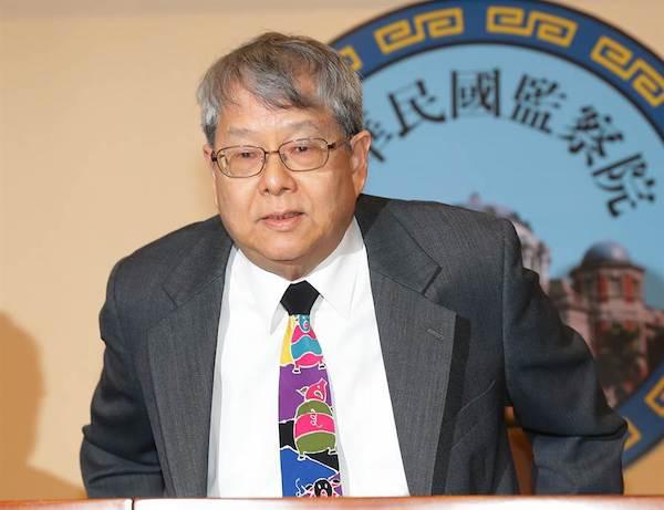 陳師孟呼籲蔡英文「願賭服輸」。 圖片來源:中時電子報