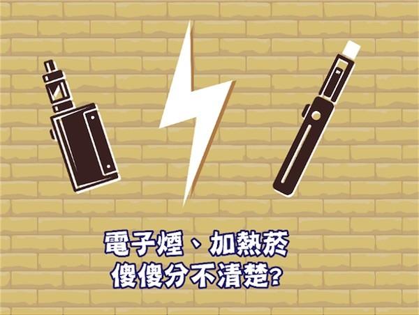 電子煙等非典型煙品是否違法? 圖片來源:中時電子報