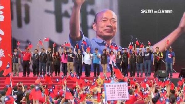 韓國瑜的崛起也是非典型案例。 圖片來源:三立新聞