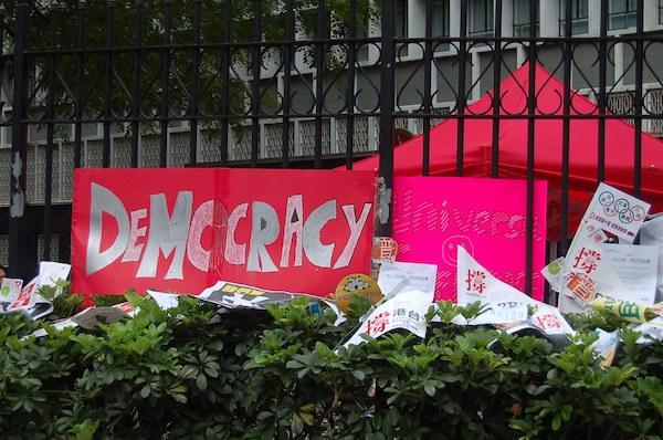 民主素養須長時間培養。 圖片來源:公民行動影音記錄資料庫