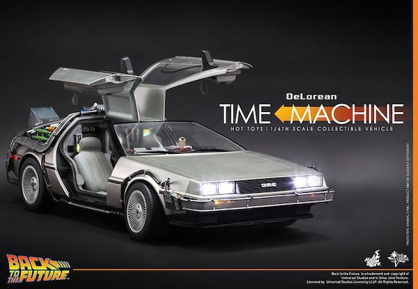 DeLorean時光機。 圖片來源:玩具人