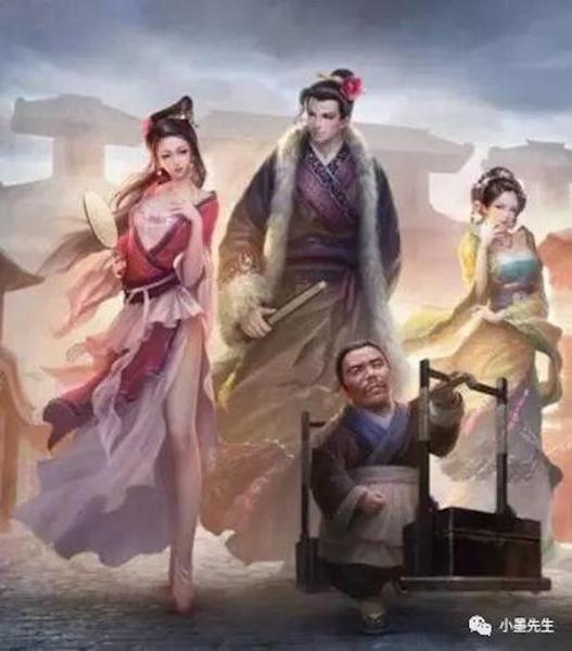 潘金蓮、武大郎與西門慶。 圖片來源:搜狐