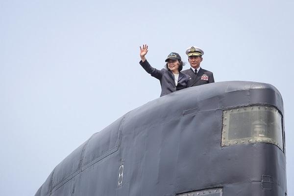 台灣向美軍購潛艦。 圖片來源:上報