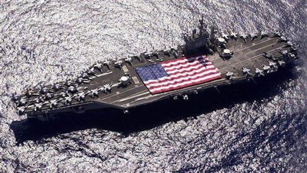 台海衝突,美國是否會出手協防? 圖片來源:三立新聞