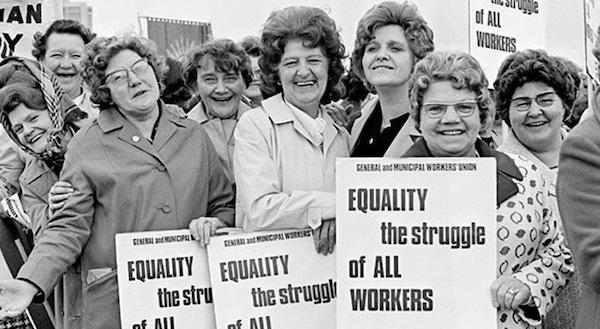 三八婦女節是女性工作者爭取而來。 圖片來源:culturaltas