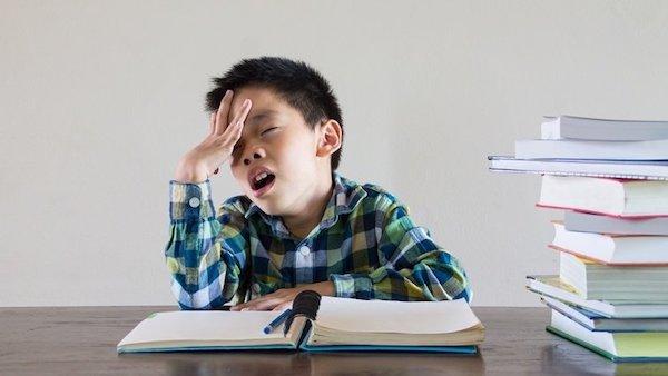 學生作業寫不完,怎辦? 圖片來源:親子天下