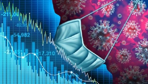 台灣經濟在疫情之下逆勢成長。 圖片來源:Smart自學網