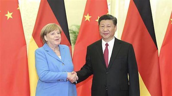 德國在梅克爾下台後是否繼續親中? 圖片來源:中新網